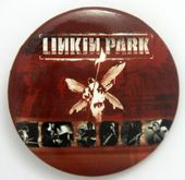 Linkin Park - 'Hybrid Theory' Large Button Badge
